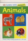 Learn with stickers! - Animals