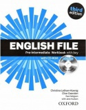 English file Pre-intermediate workbook with key - Third edition